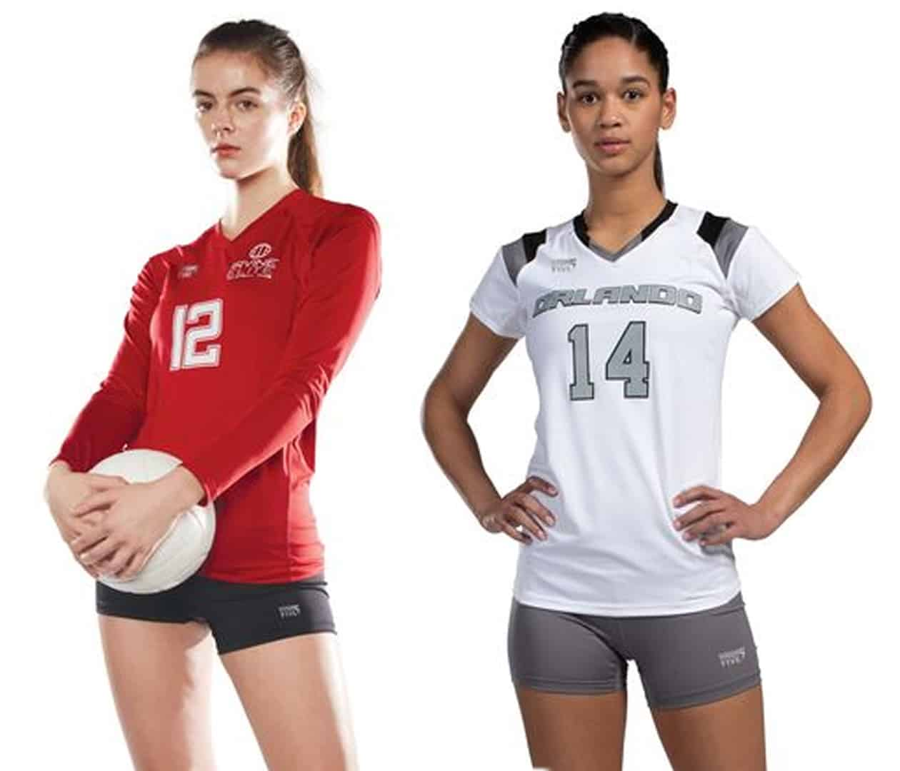 Photo of the volleyball players