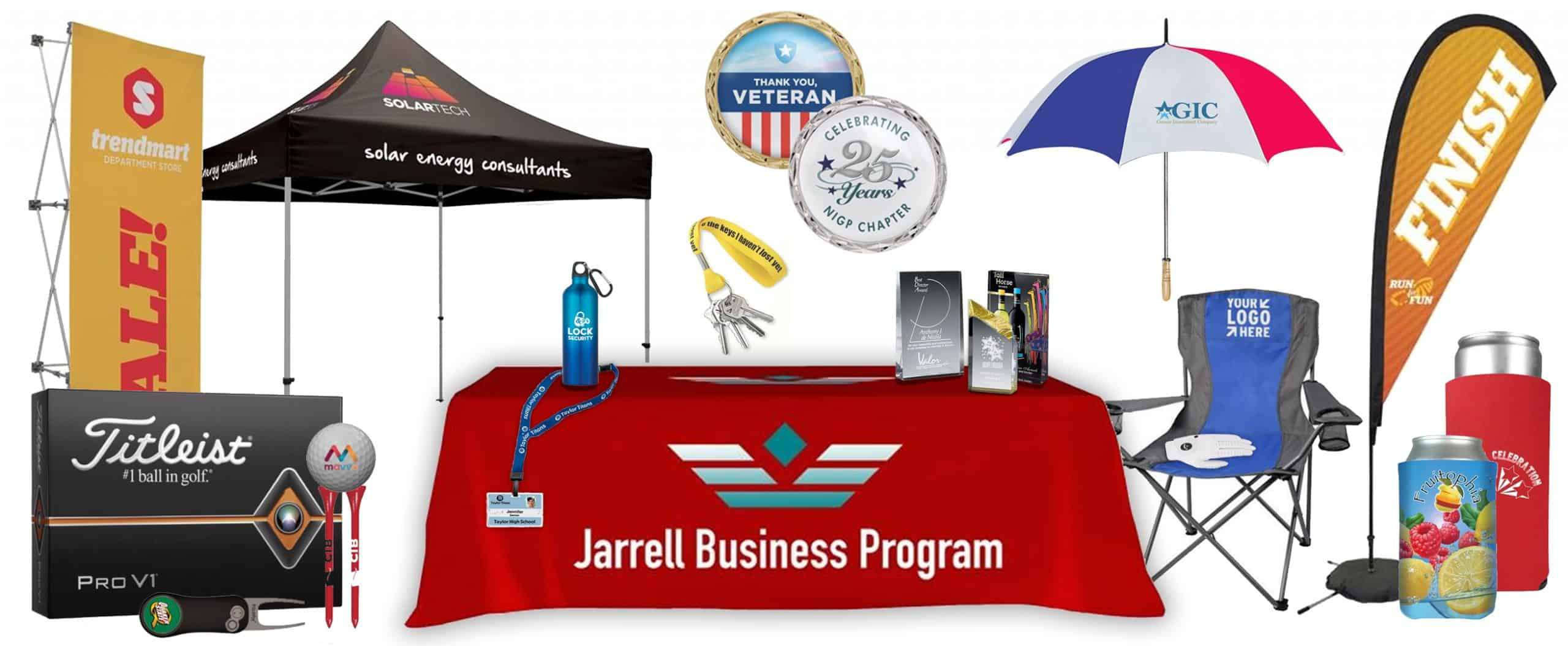 Picture of promotional items