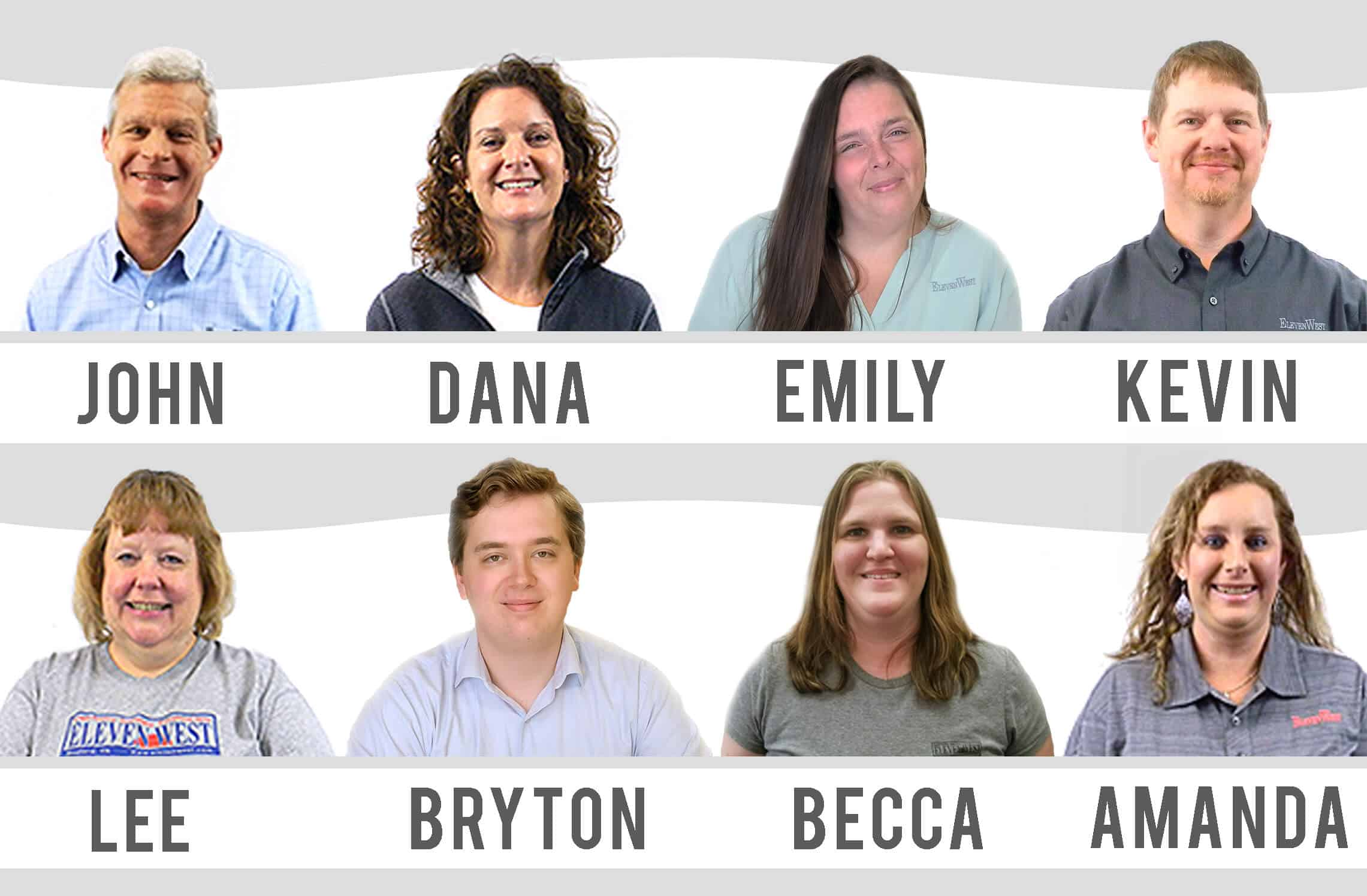 Pic of Elelevenwest team members